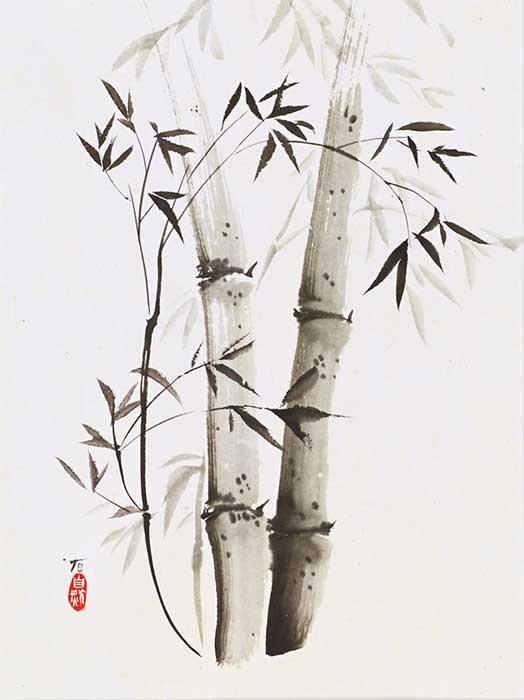 Naturmalerei und Tuschmalerei